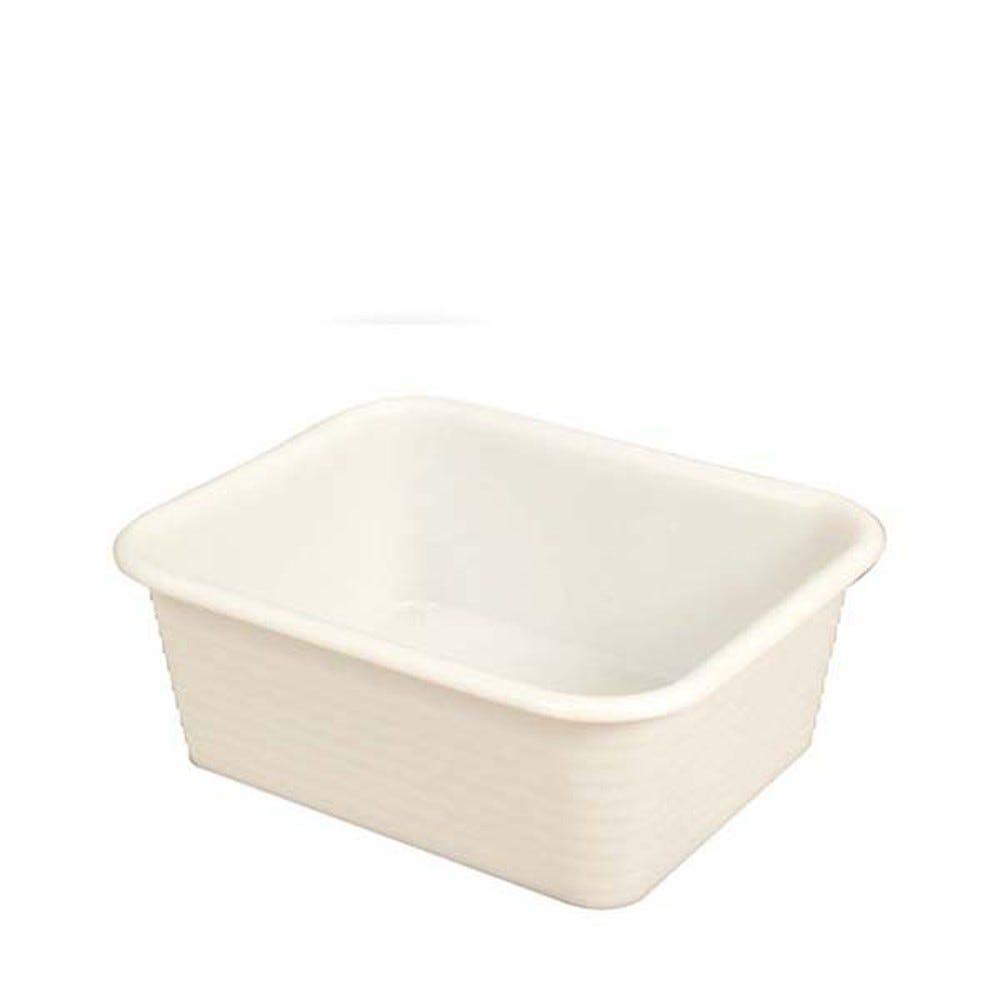 Bac profond 10 litres coloris blanc - gilac