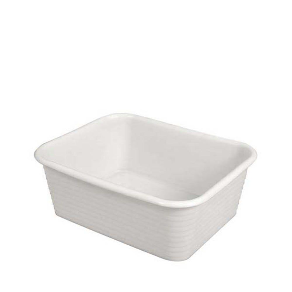 Bac profond 30 litres coloris blanc - gilac