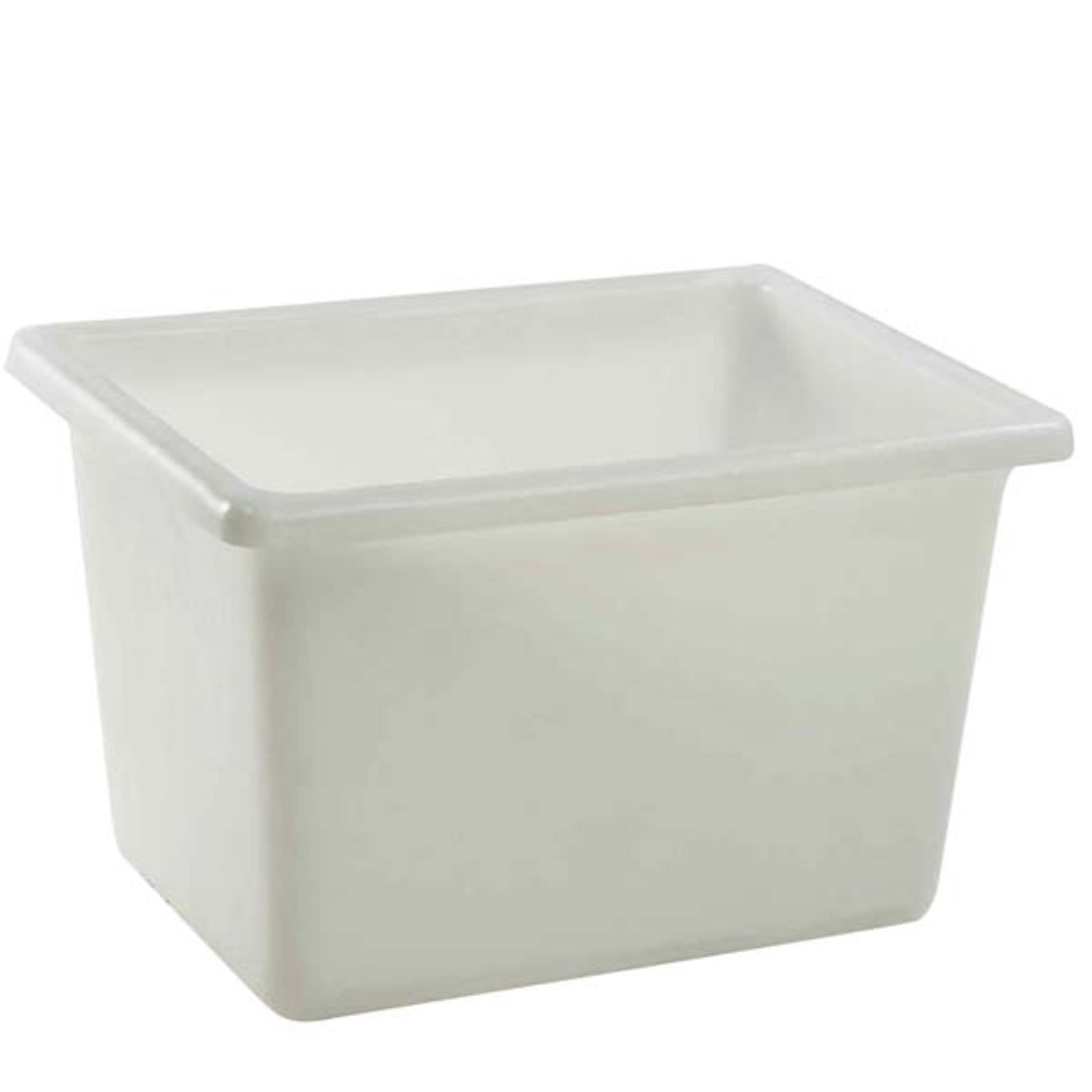 Bac profond 170 litres coloris blanc - gilac
