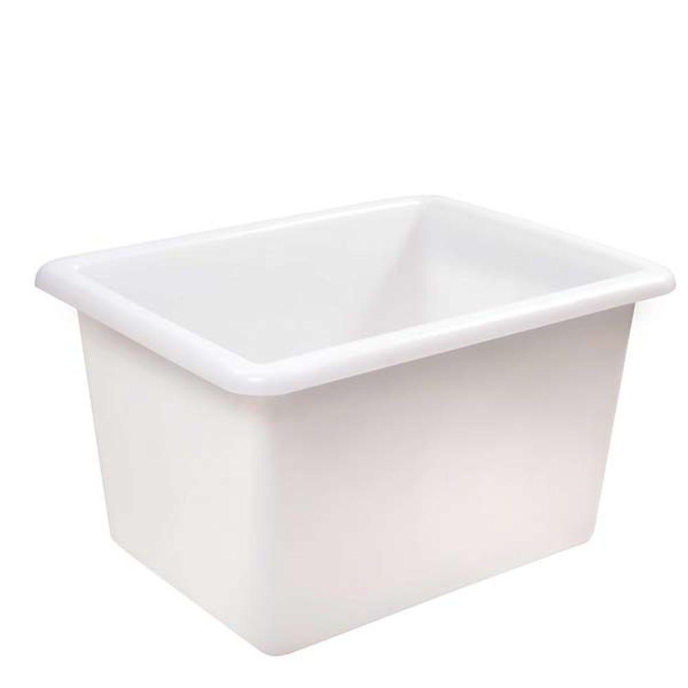 Bac profond 220 litres coloris blanc - gilac
