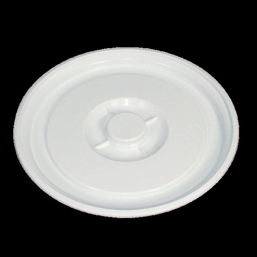 Couvercle conteneur 50 litres coloris blanc - gilac