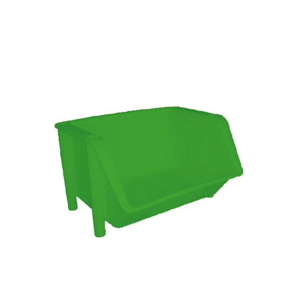 Bac de distribution coloris vert (photo)