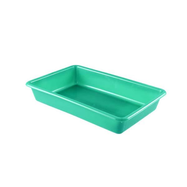 Bac plat 5 litres coloris vert (photo)