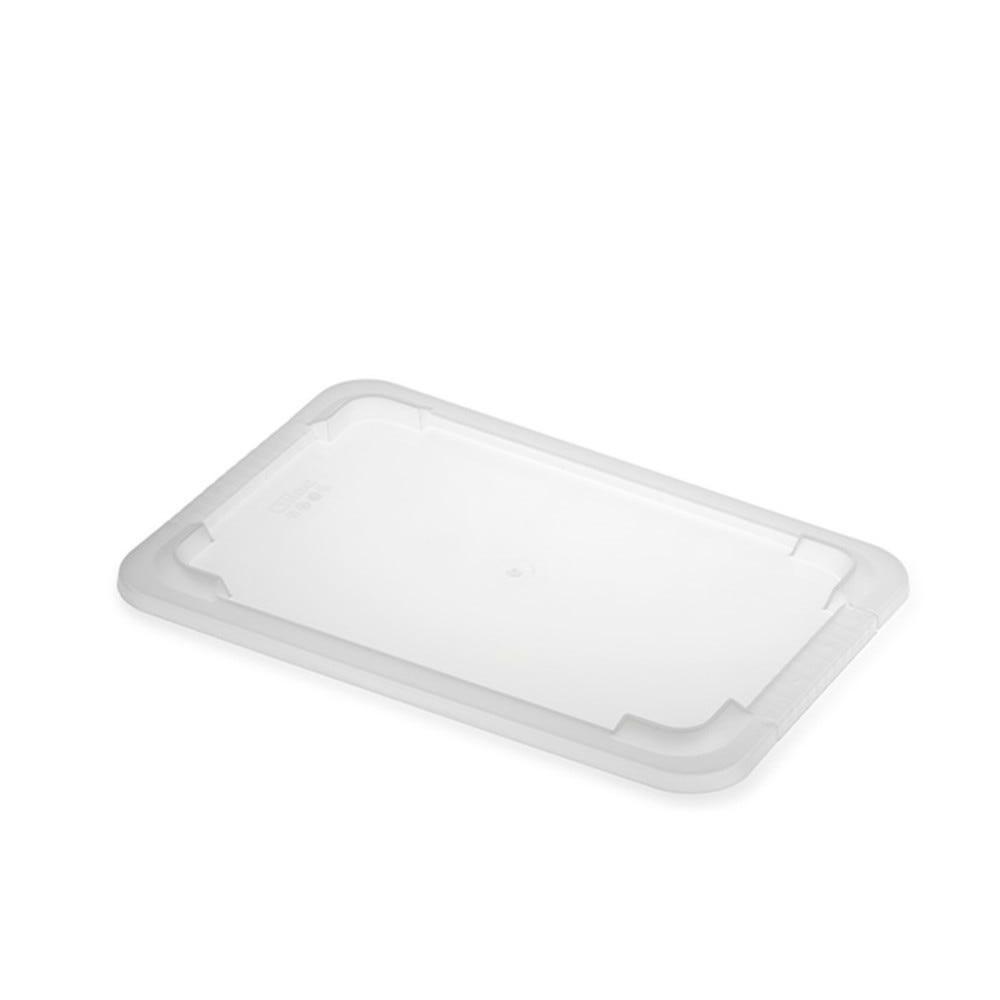Couvercle transparent bac plat 8 litres - gilac