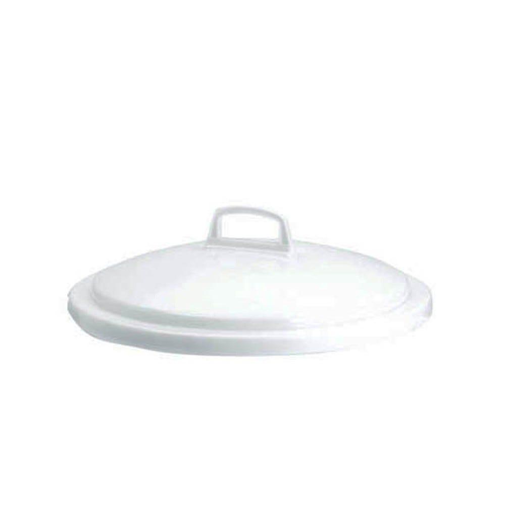 Couvercle conteneur 75 litres coloris blanc - gilac