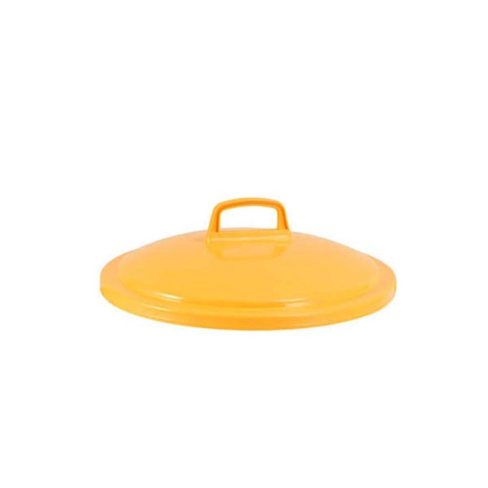 Couvercle conteneur 75 litres coloris jaune - gilac
