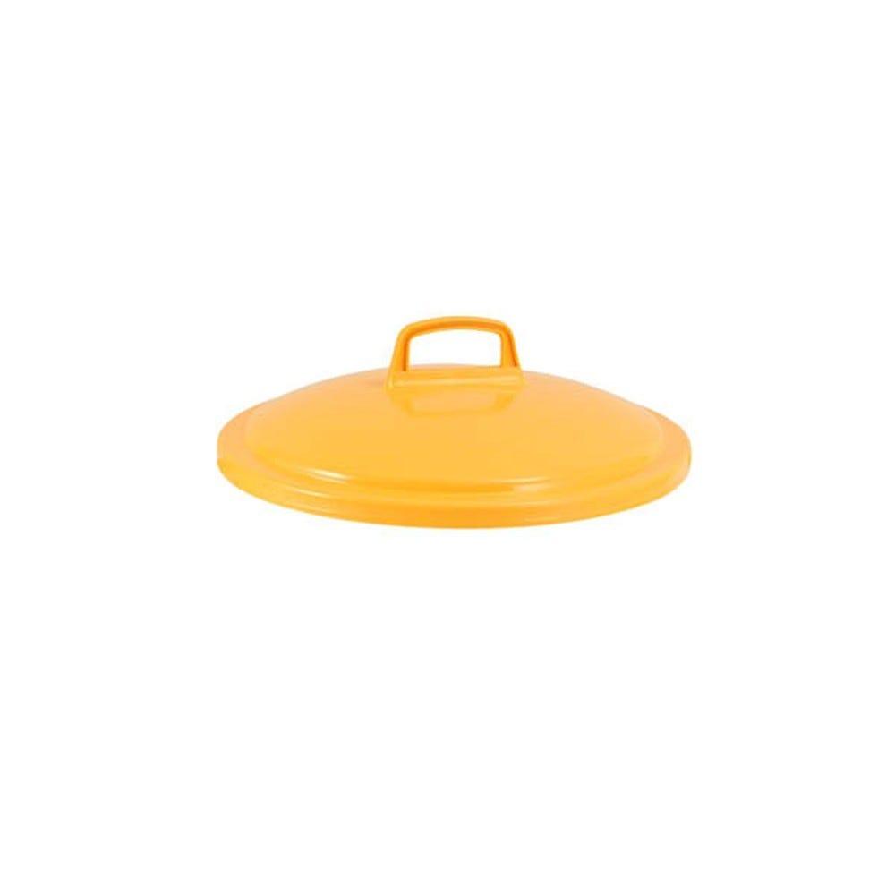 Couvercle conteneur 50 litres coloris jaune - gilac