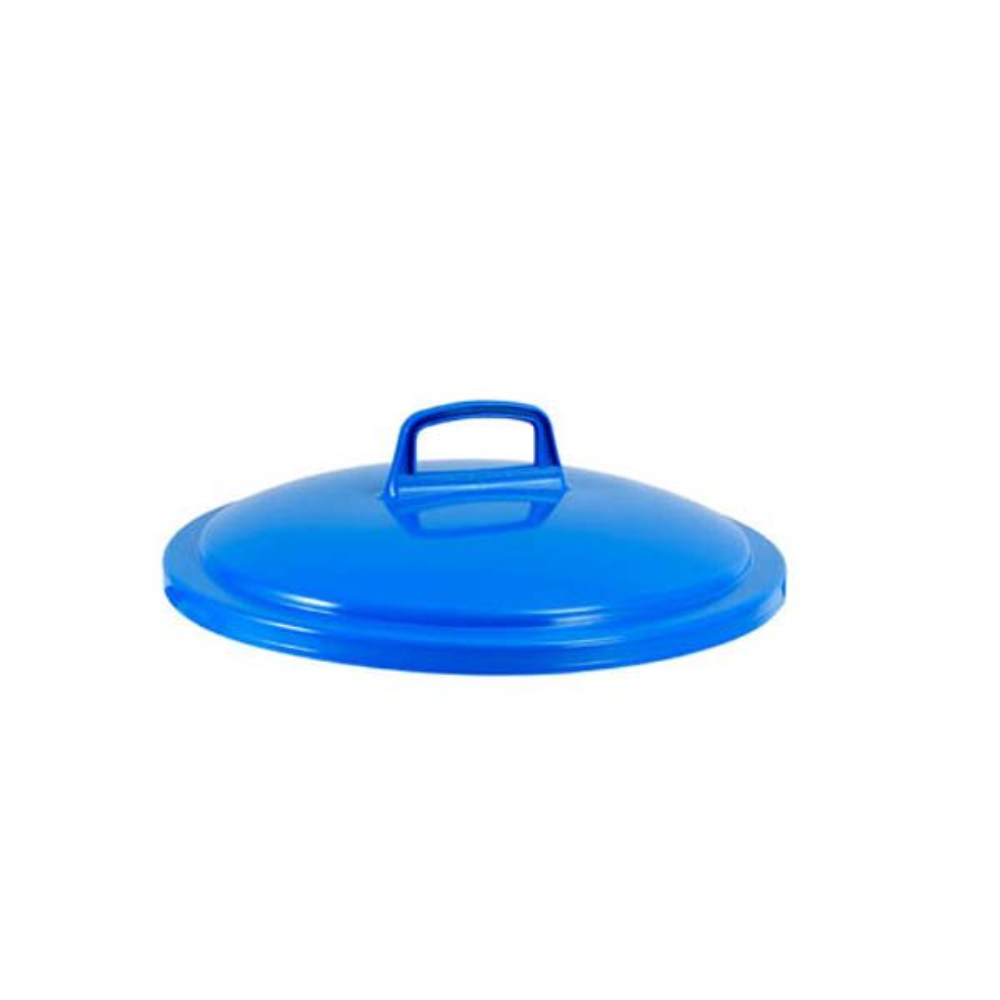 Couvercle conteneur 50 litres coloris bleu - gilac