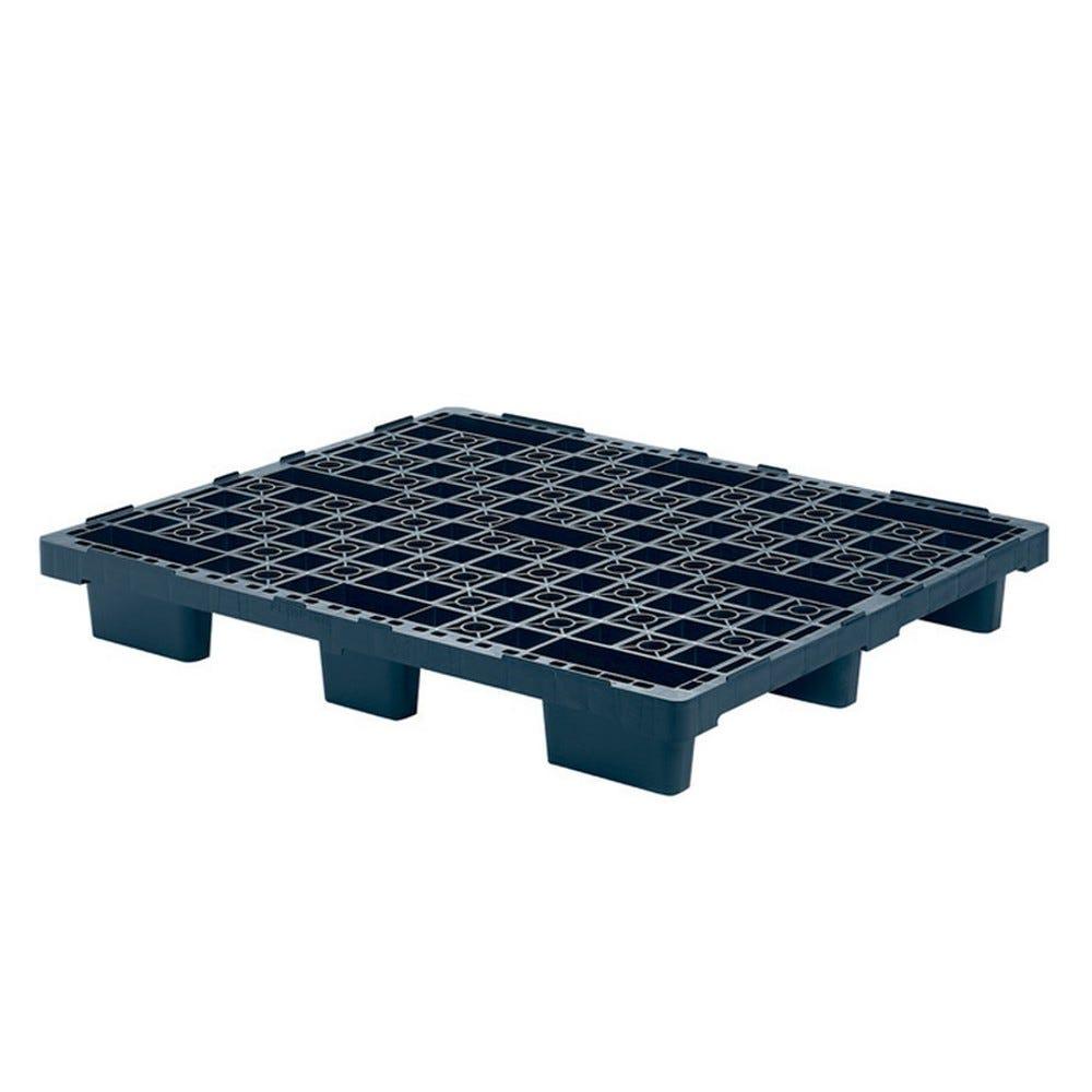 Palette légère emboîtable 1000 x 1200 - noir - gilac (photo)
