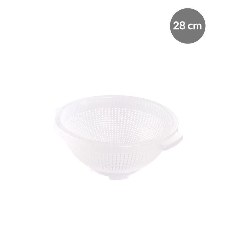 Passoire 28 cm - blanc - gilac (photo)