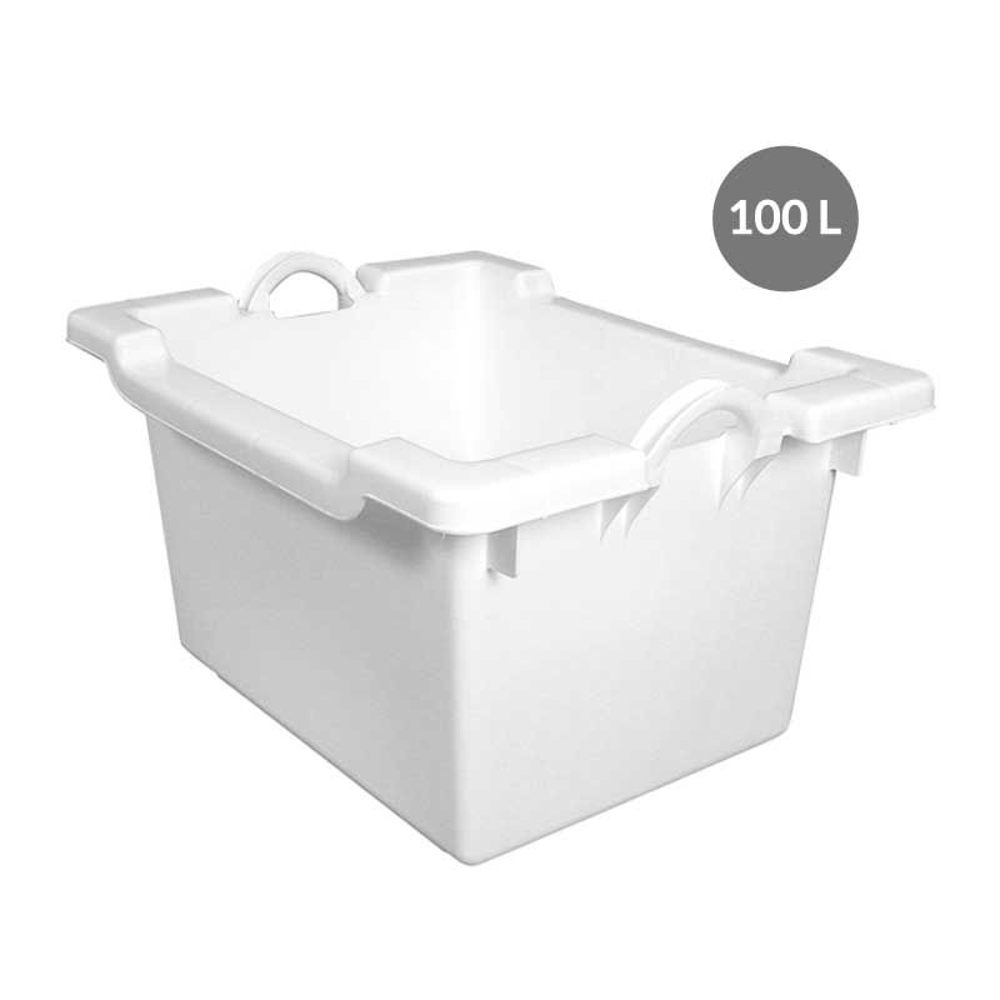 Bac comporte 100 l - blanc - gilac (photo)