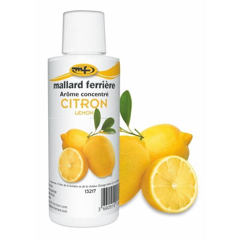 Arôme citron 125 ml (photo)
