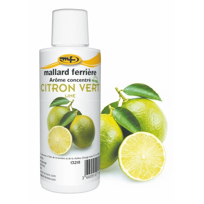 Arôme citron vert 125 ml (photo)