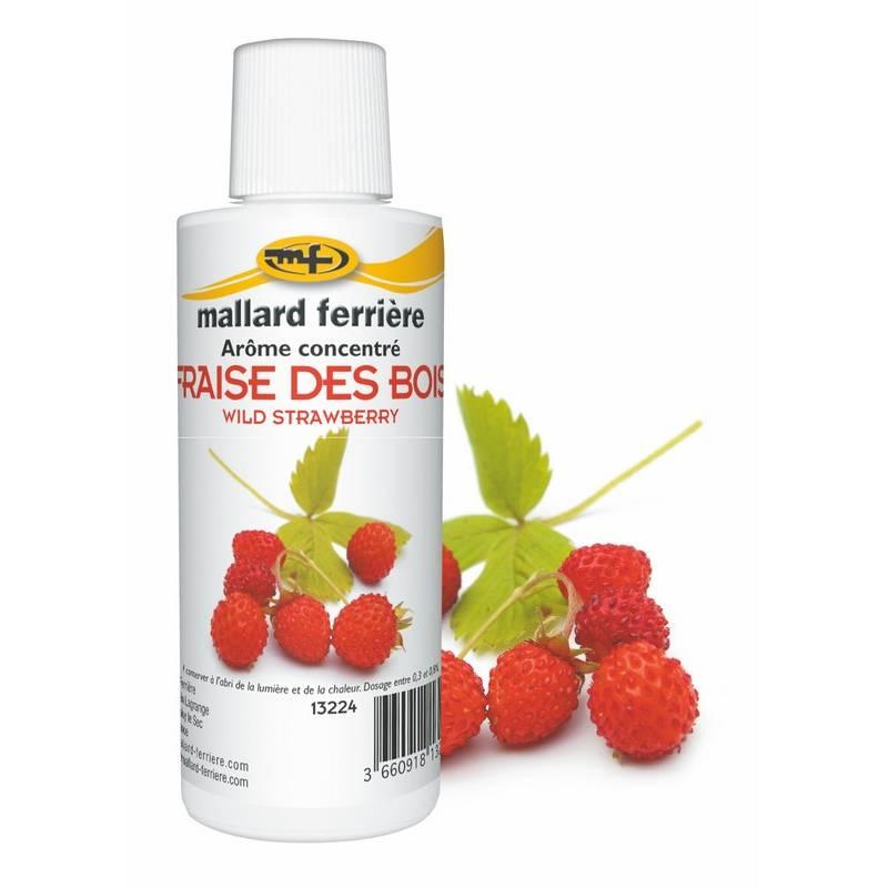 Arôme fraise des bois 125 ml (photo)