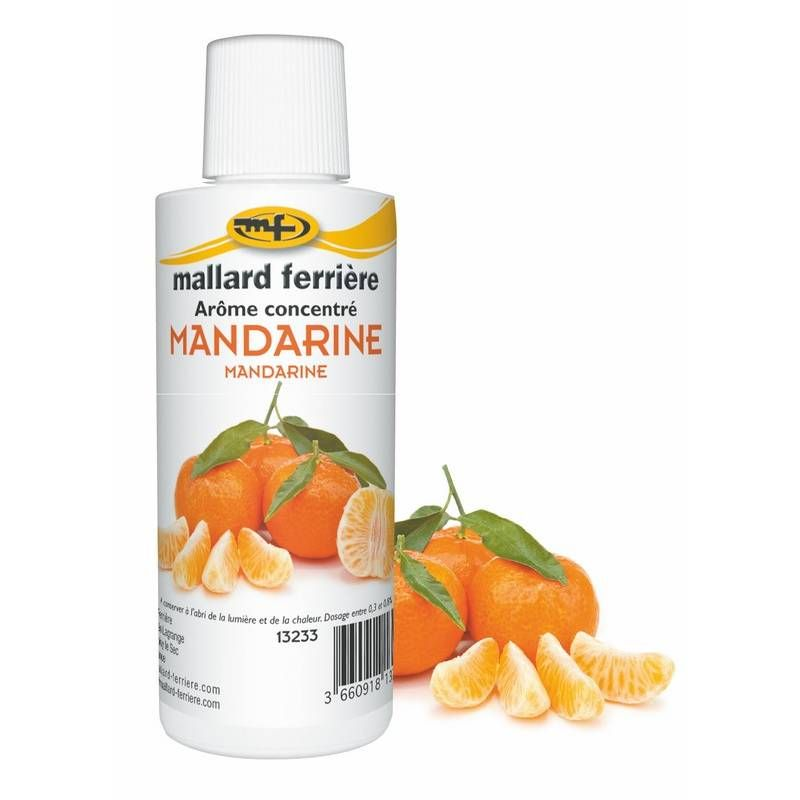 Arôme mandarine 125 ml (photo)