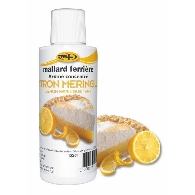 Arôme citron meringue 125 ml (photo)