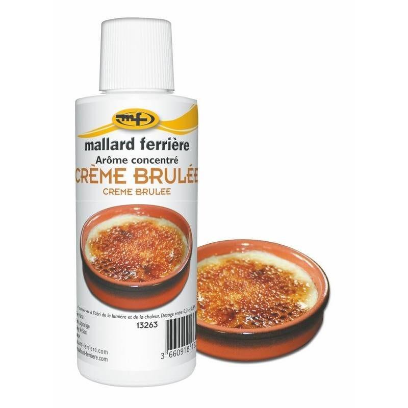 Arôme crême brûlée 125 ml (photo)