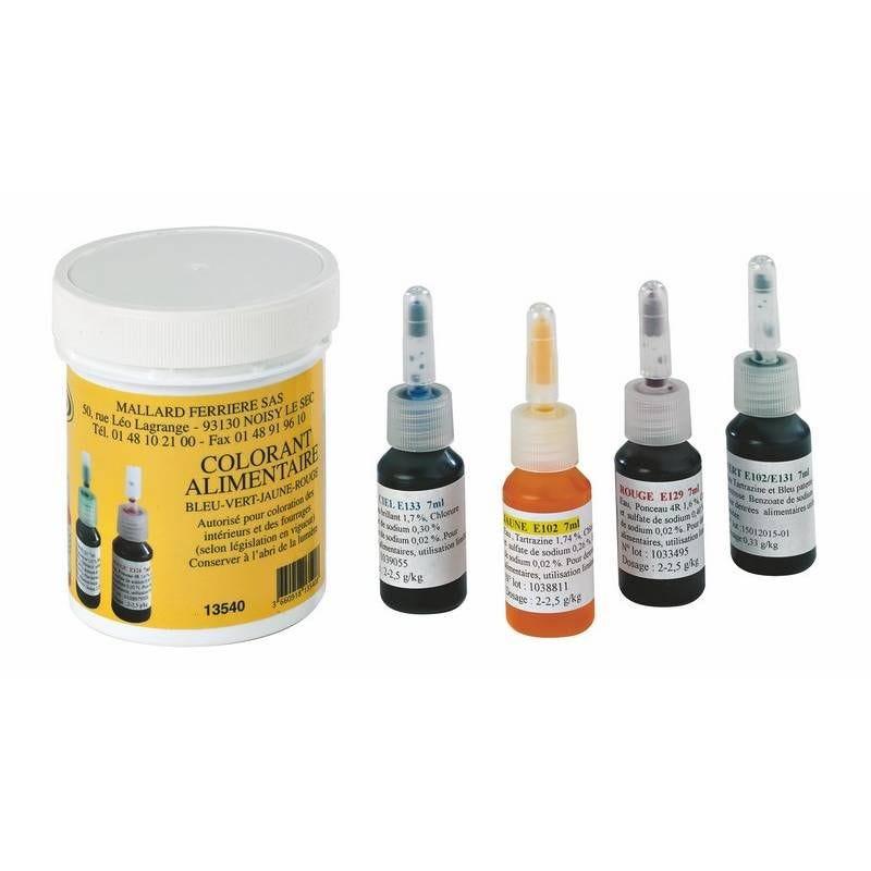 Colorants stilligoutte 4 flacons de 7 ml