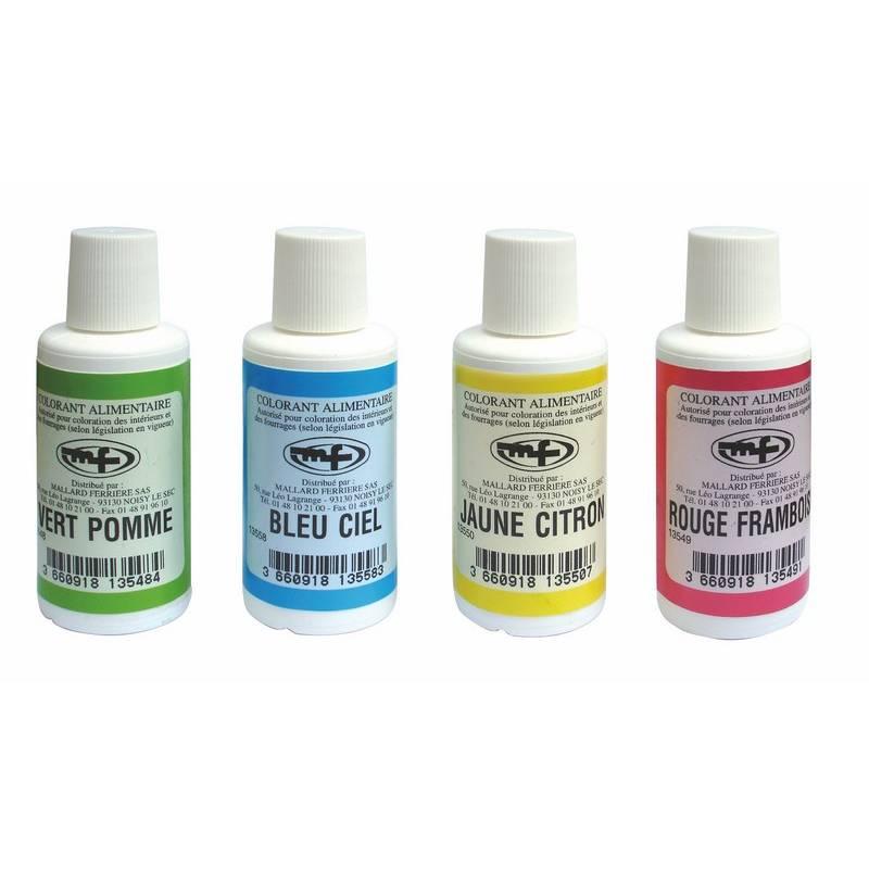 Colorant liquide vert pistache 100 ml