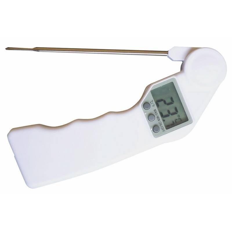 Thermomètre électronique sonde réglable