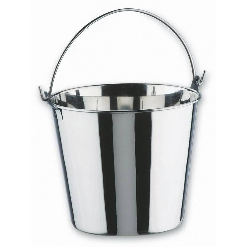 Seau inox 6 litres