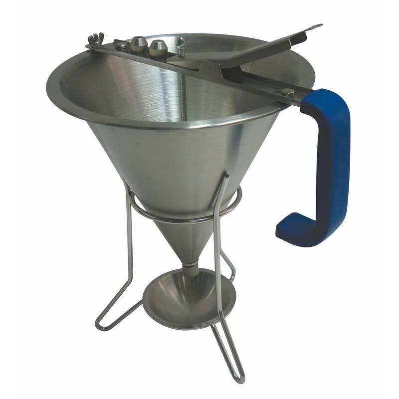 Entonnoir à fondant en acier avec support 1.9 litres (photo)