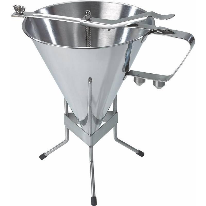 Entonnoir à fondant en inox avec support 1.9 litres (photo)
