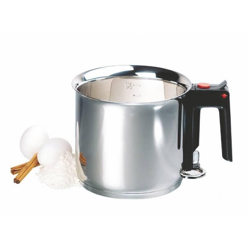 Batterie de cuisine inox pro 18/10 de ø16 cm - 1,5 litres (photo)