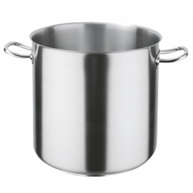 Batterie de cuisine inox pro 18/10 de ø40 cm - 50 litres (photo)