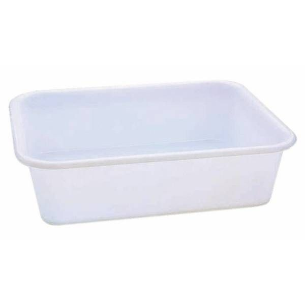 Bac à pâte rectangle 20 litres (photo)