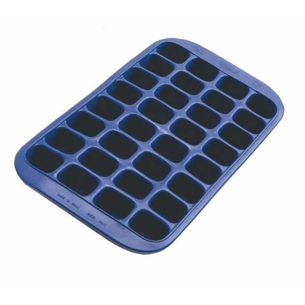 Maxi bac à glacons 32 cubes en silicone (photo)