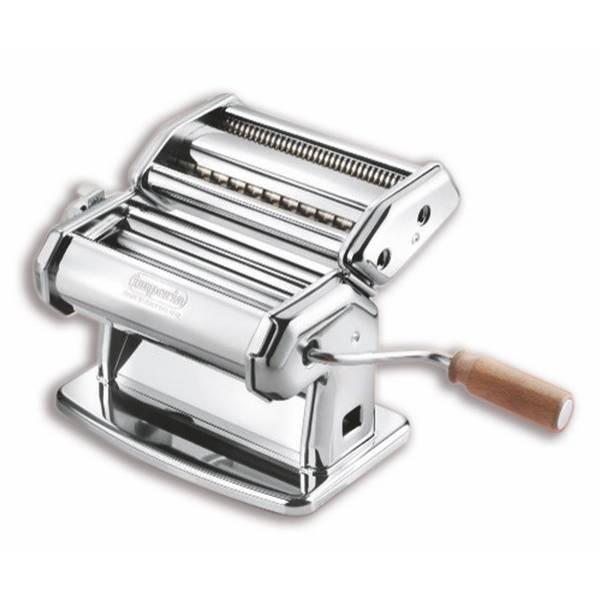Machine à pates manuelle chromée (photo)