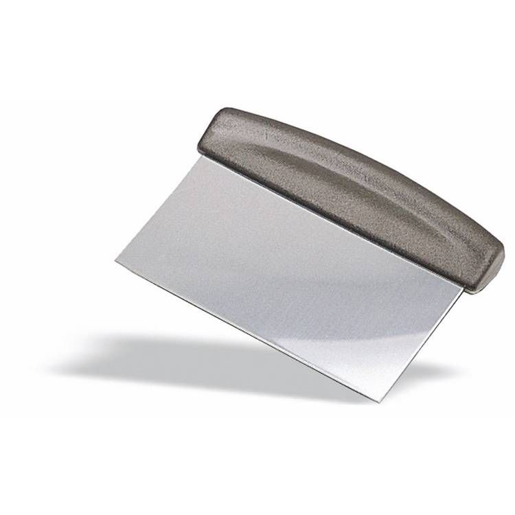 Coupe pâte inox 15 cm manche abs (photo)