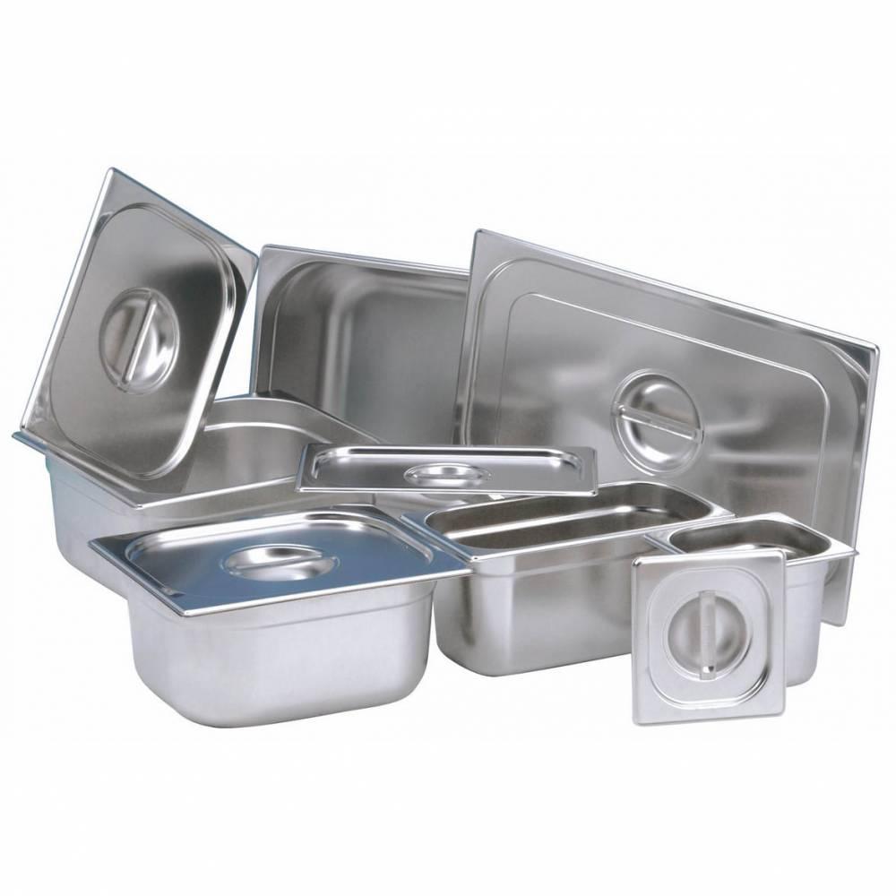 Bac gastronomique inox 1/3 ht 20 cm (photo)