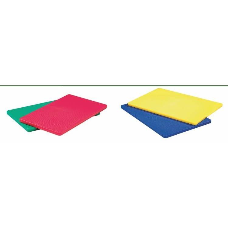 Planche à découper rouge 50x30 cm (photo)
