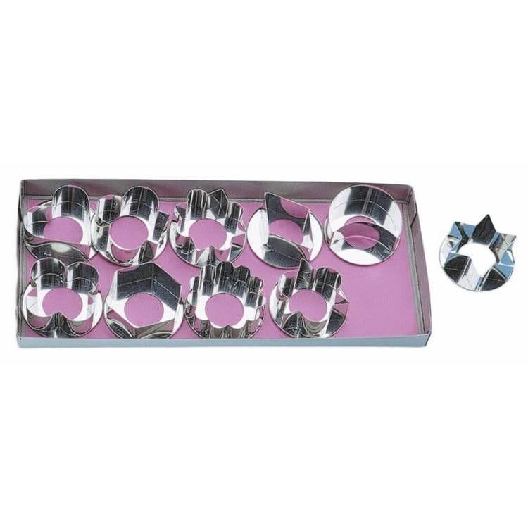 Boite 10 découpoirs gateaux secs (photo)
