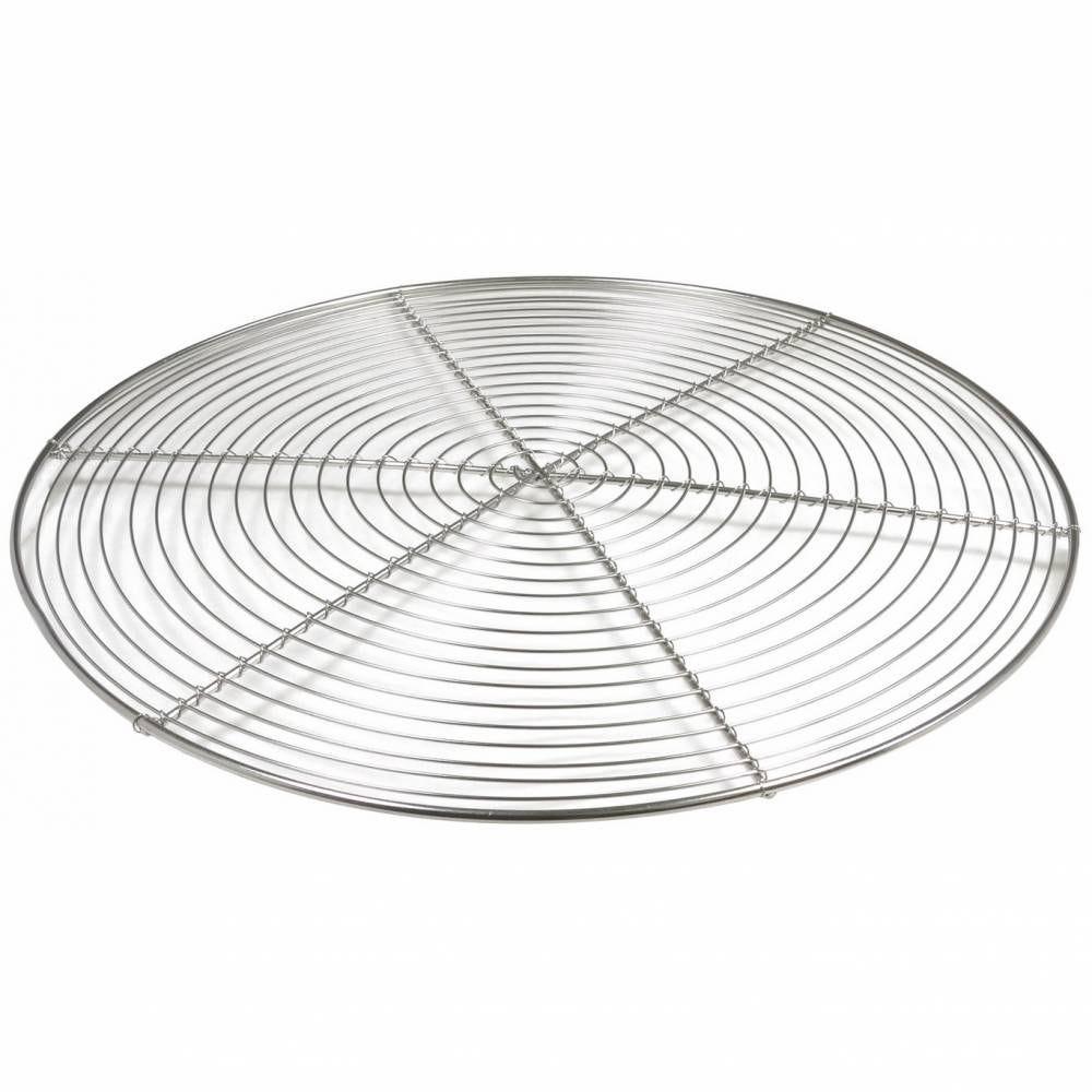 Grille ronde sans pied de 28 cm