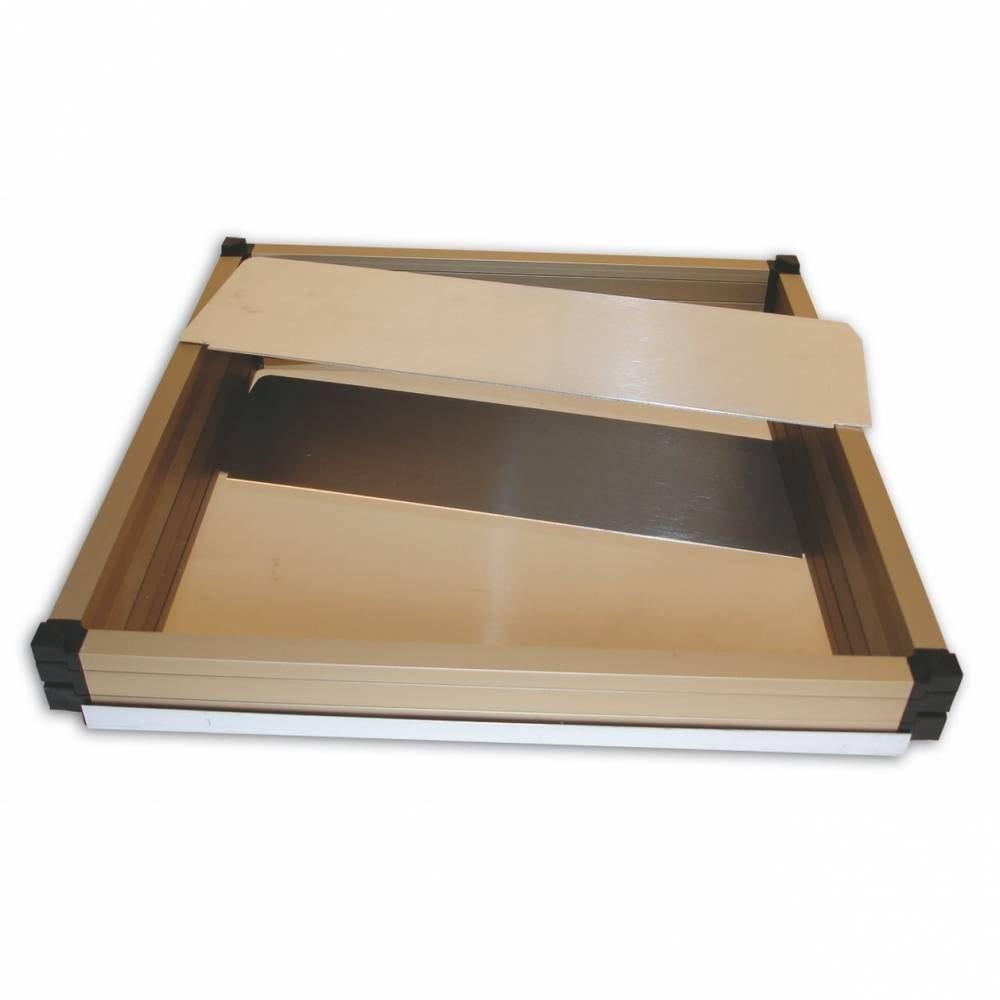Kit cadre superposable 36 x 36 cm