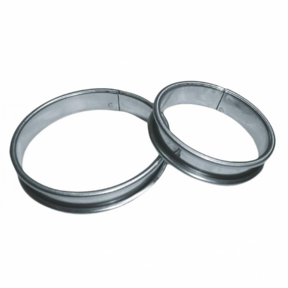 Cercle à tarte inox de ø 16 cm hauteur 2,1 cm