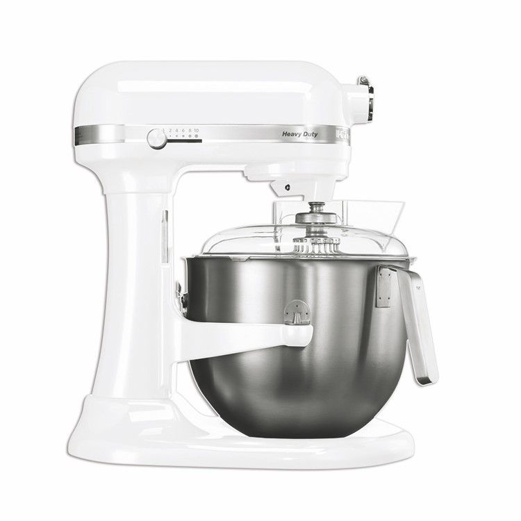 Batteur kitchenaid blanc 6,9 litres (photo)