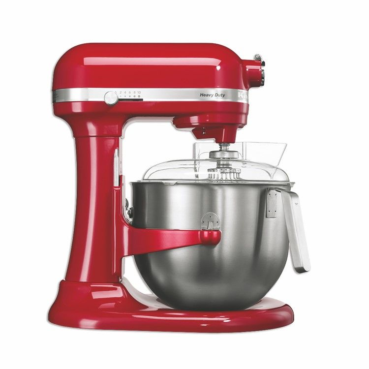 Batteur kitchenaid rouge 6,9 litres (photo)