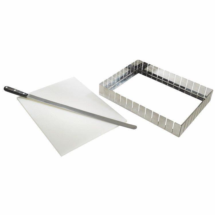 Diviseur inox 130 parts 30 x 30 mm (photo)