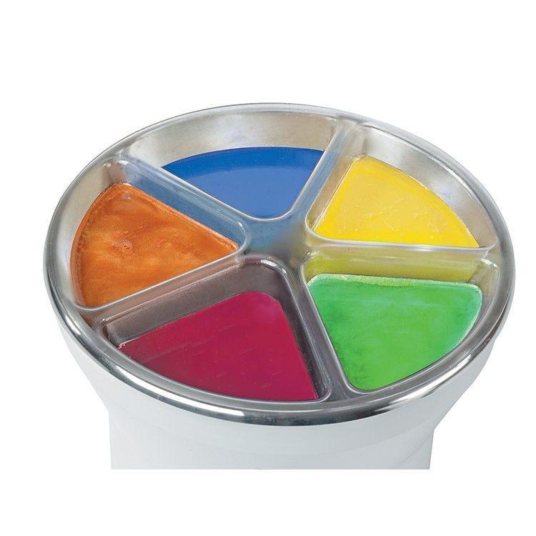 Bac 5 couleurs pour mini trempeuse kali 3.5 litres (photo)