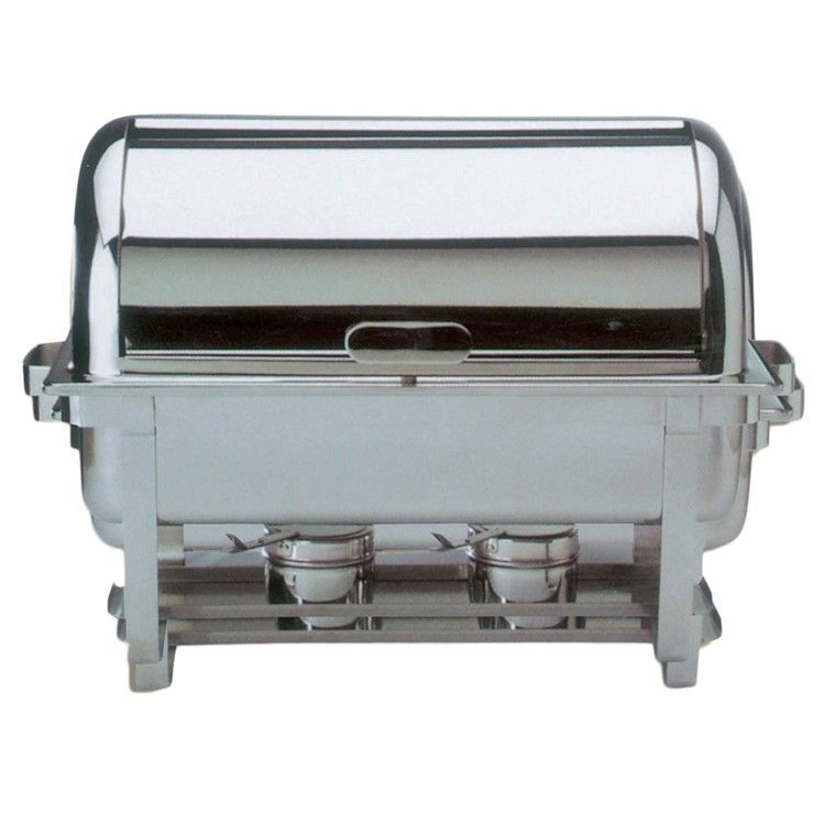 Chafing dish roll top inox (photo)