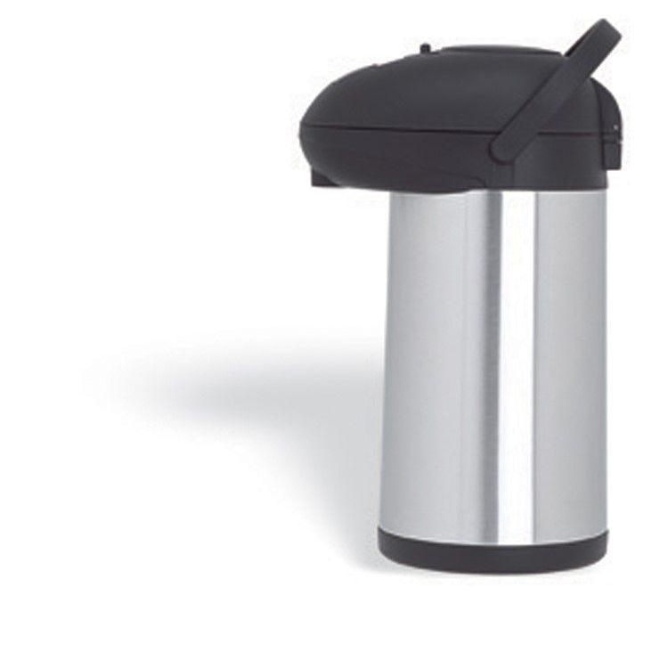 Pichet isotherme inox à pompe 3 litres