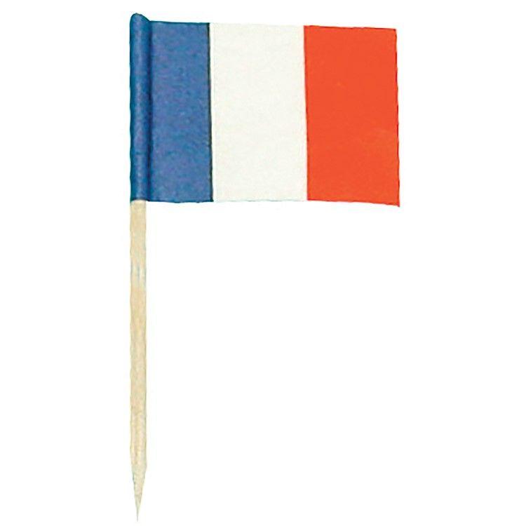 Drapeau papier francais - par 144