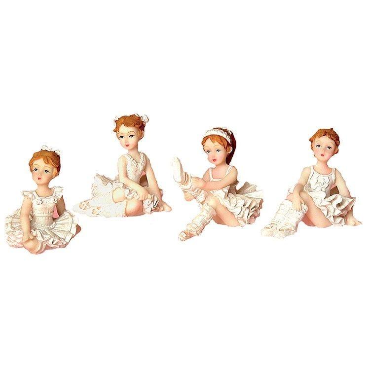 Boîte de 4 danseuses assorties