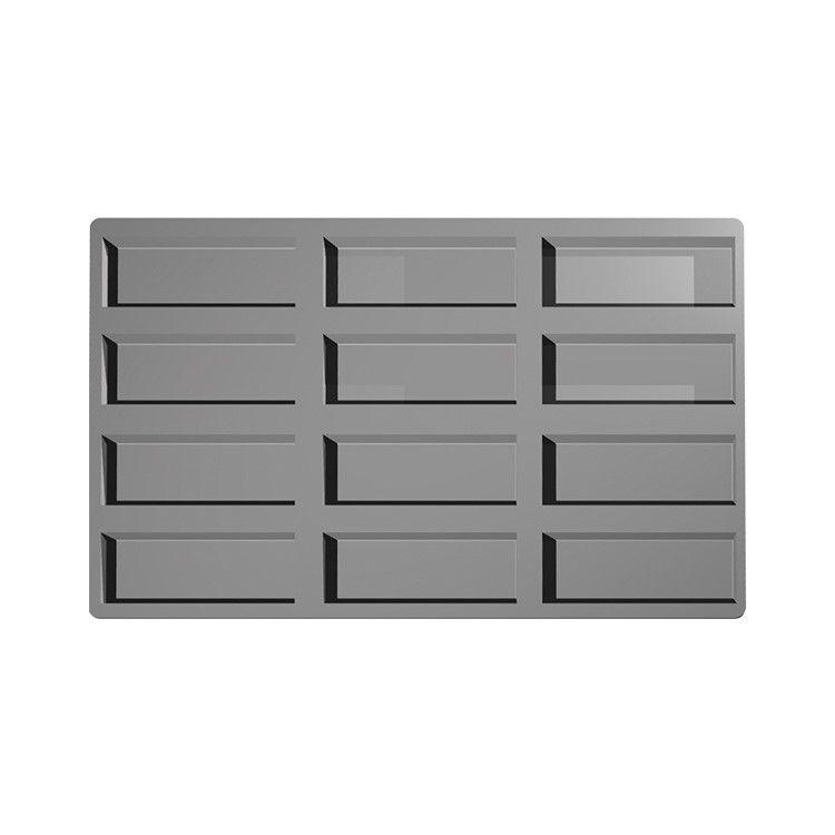Moule silicone premium 12 inserts rectangles