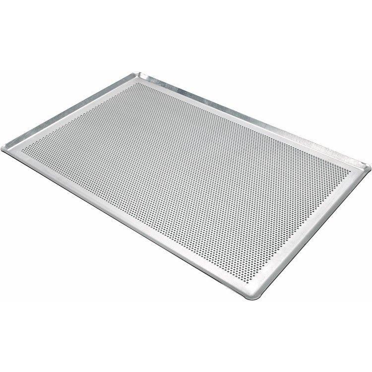 Plaque aluminium perforée 53 x 32.5 cm