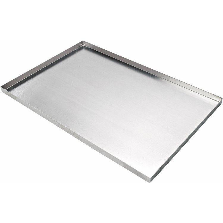 Plaque aluminium rebords 40 x 30 x 2 cm